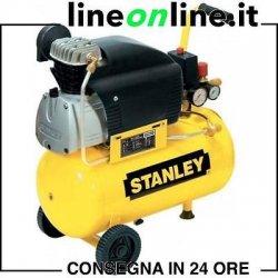 Compressore aria 24 lt Stanley D 210/8/24