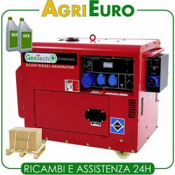 Generatore di Corrente GeoTech GTD 6000 gruppo...