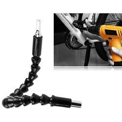 Sicuro Albero Flessibile Presa Estensione Cardanico 290mm Flex Bar Dente dArresto Auto/Meccanico Utensili per Cacciavite Trapano Avvitatore Collegamen