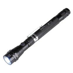 Unitec 77893R Torcia Elettrica Telescopica a LED
