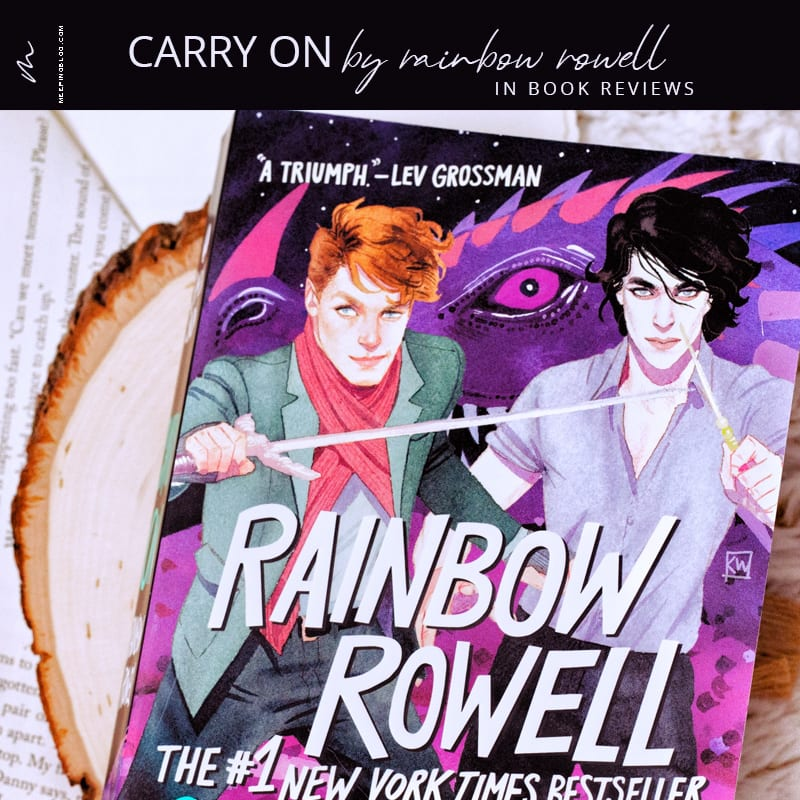Carry On Rainbow Rowell Book Review V1
