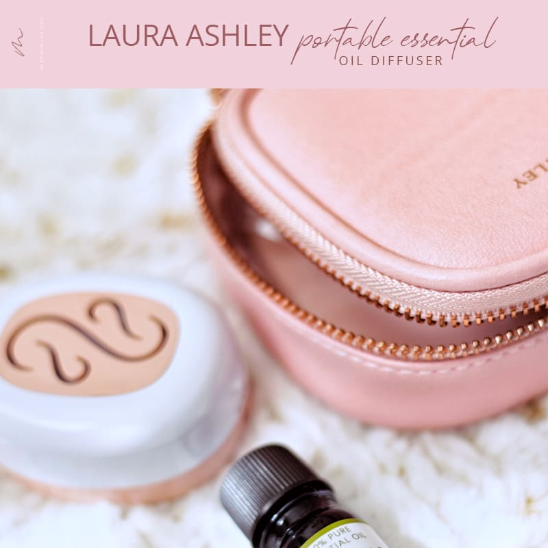 Laura Ashley Portable Essential Oil Diffuser Review V1