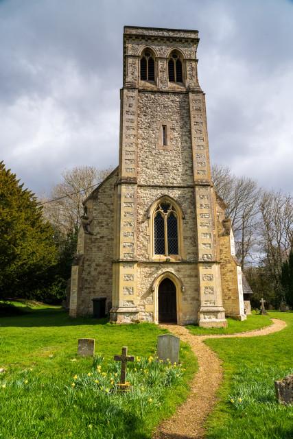 All Saints Church, Dogmersfield