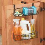 InterDesign-50161-Classico-Over-CabinetWall-Mount-Kitchen-Storage-Organizer-Basket-Shelf-