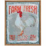 NIKKY-HOME-Irom-Farm-House-Plaque-Farm-Fresh-Egg