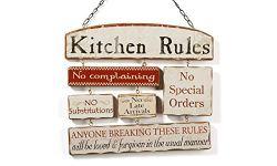 Decor Idea Kitchen Rules Sign