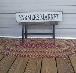 Wooden-Home-Sign-Farmers-Market-Sign-Farmhouse-Wall-Decor-Country-Wall-Decor-Farmhouse-Kitchen-Sign-Farmhouse-Wall-Art-Cabin-Decor-Plaque