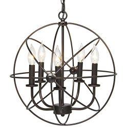 Industrial-Vintage-Lighting-Ceiling-Chandelier