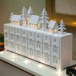 Advents Calendar LED Christmas Ornament