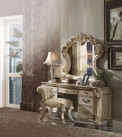 🔥 Bedroom Vanity Sets With Mirror & Benches