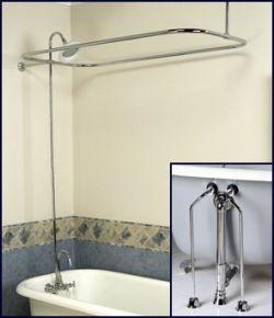 Shower Add-on Clawfoot Bathtubs
