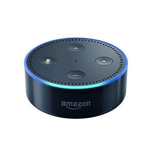 Certified Refurbished Echo Dott (2nd Generation) - Smart speaker with Alexa - Black