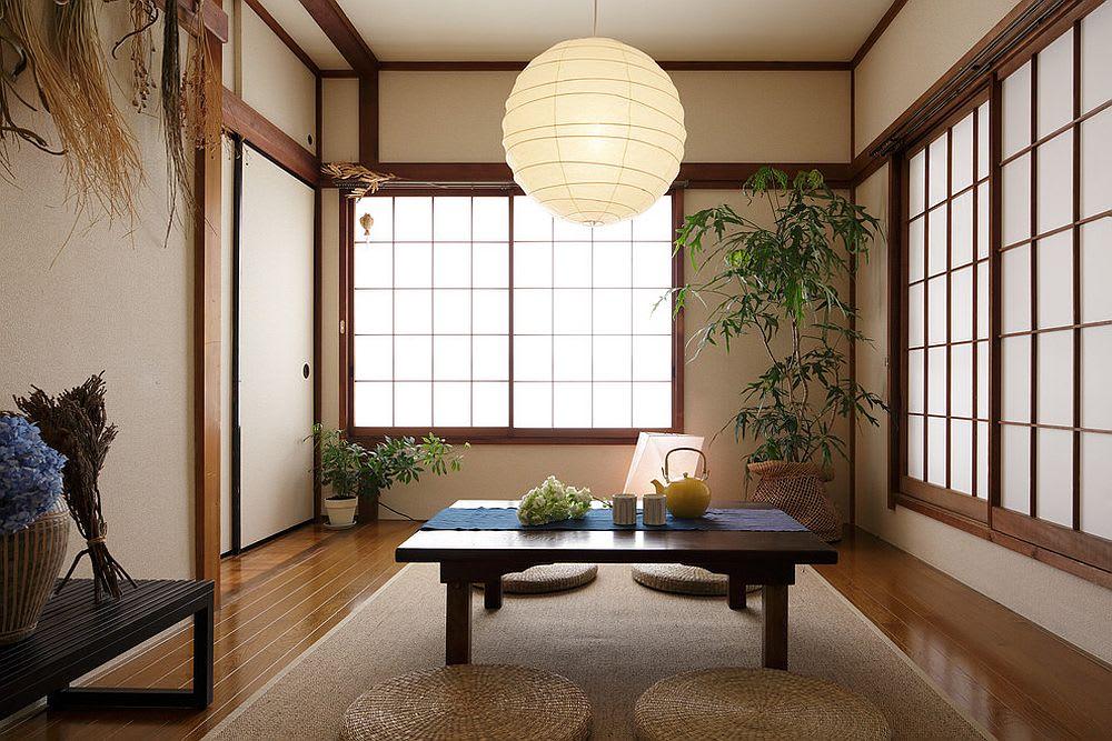 Asian Design Style Living
