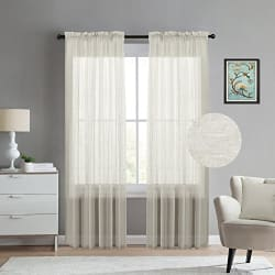 Window Treatment: Great Designer Curtain - Blinds and Shade