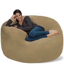 Chill Sack Bean Bag Chair - Big Sofa & Soft Micro Fiber Cover