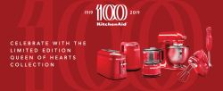 2019 KitchenAid Rebate & 100 Year Limited Edition: Queen Of Hearts