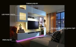 Wobane LED Systems & Do-It-Yourself Cabinet Lighting