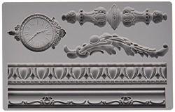 Prima Marketing Iron Orchid Designs Vintage Art Decor Mould -Baroque #6