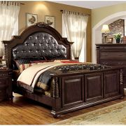 247 SHOPATHOME IDF-7711CK – 6PC Bedroom Furniture Sets Cherry