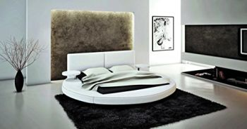 Top Home Design Features The 383B Modern Round Queen Bed By VIG Furniture