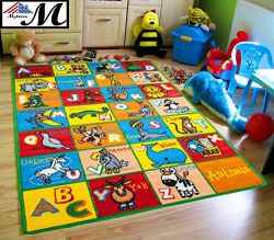 Kids Puzzle Alphabet Play Rug