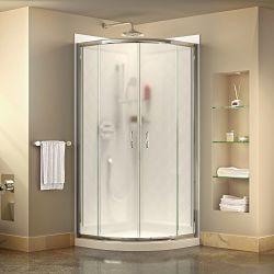DreamLine Prime 33 corner sliding shower enclosure