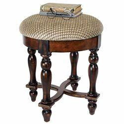 Design Toscano Grand Duchess Vanity Stool European-Style