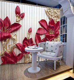 Wapel 3D- Curtain & Wapel 3D Decor Wall