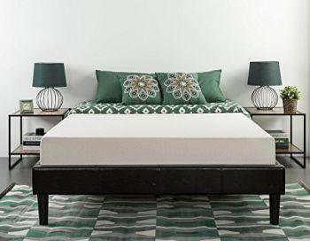 Cot Size Narrow Twin is 30x75 inch Zinus twin memory foam mattress