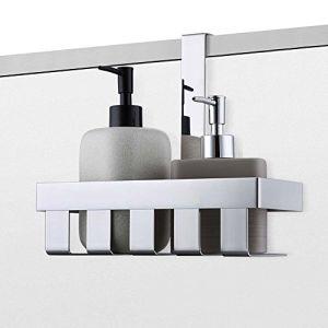 KES-Over-the-Door-Shower-Caddy-Stainless-Steel-Rustproof-Shower-Door-Basket-Storage-Shelf-Hanging-Organizer-Polished-Finish