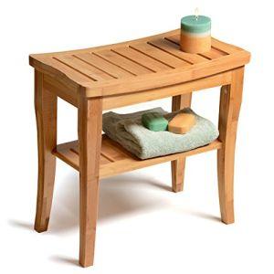 Good Cheap Teak Shower Seat Bench & Storage By Bambusi (SALE ) - Bambüsi Bamboo Teak Shower Seat Bench & Storage