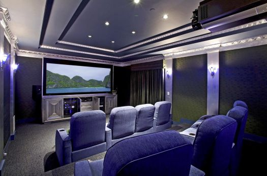 Remodeling Process to Basement Remodel - Home Theater
