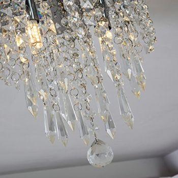 Lightfixture from Lifeholder :Mini-Chandelier-Crystal