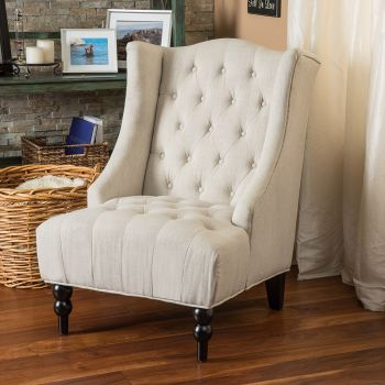 Clarice Tufted Accent Chair