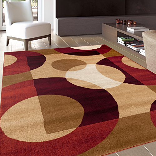 Rugshop Modern Circles Area Rug 2 X 3 Multicolor Top Home Design