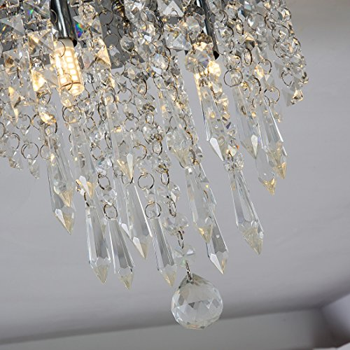Lightfixture from Lifeholder :Mini-Chandelier-Crystal