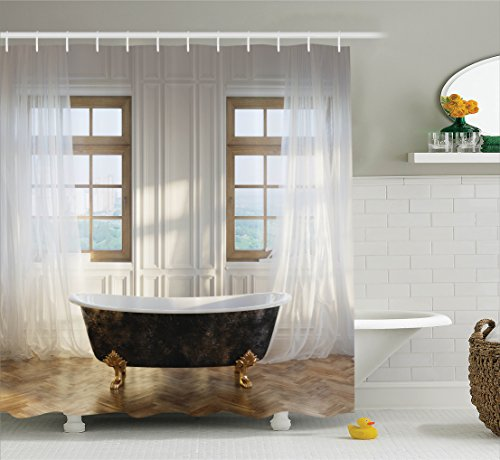 Antique-Decor-Shower-Curtain