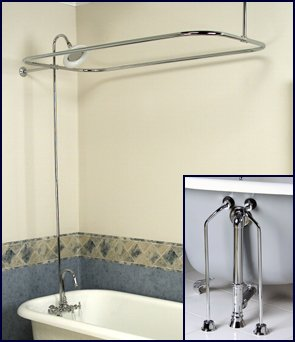 Add-on-Shower-Combo-Set-for-Clawfoot-Tub-Faucet-Riser-Shower-Rod-Drain-Lines Claw-foot-tub Accessories