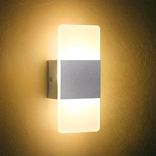 LED-Wall-Light-Bedside-Wall-Lamp-Oenbopo-Modern-Acrylic-LED For $10.00 or less