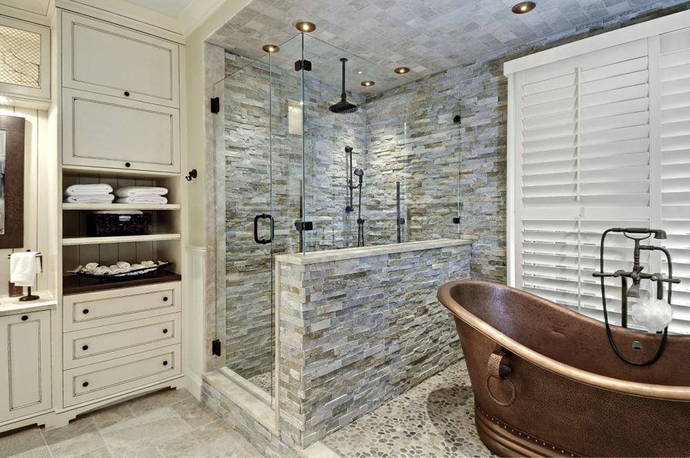 Discover our bathroom photo galleries and the trendy bathroom products, like self cleaning shower doors