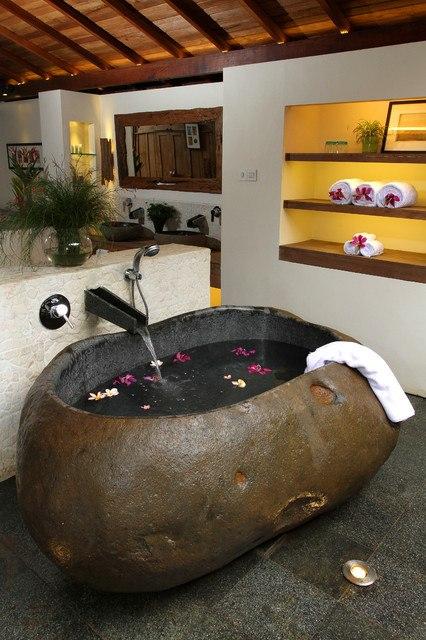 The Rock Design Bathroom