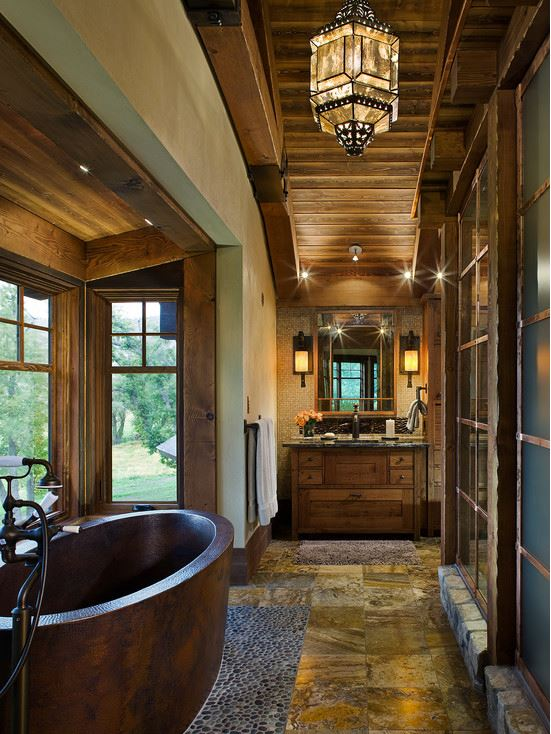 Rustic designs styles bathroom