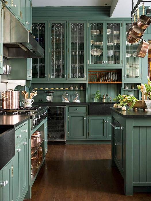 Color & French Country Kitchen Style