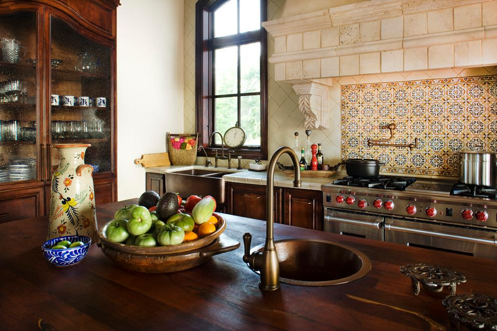 English Country Kitchen Style