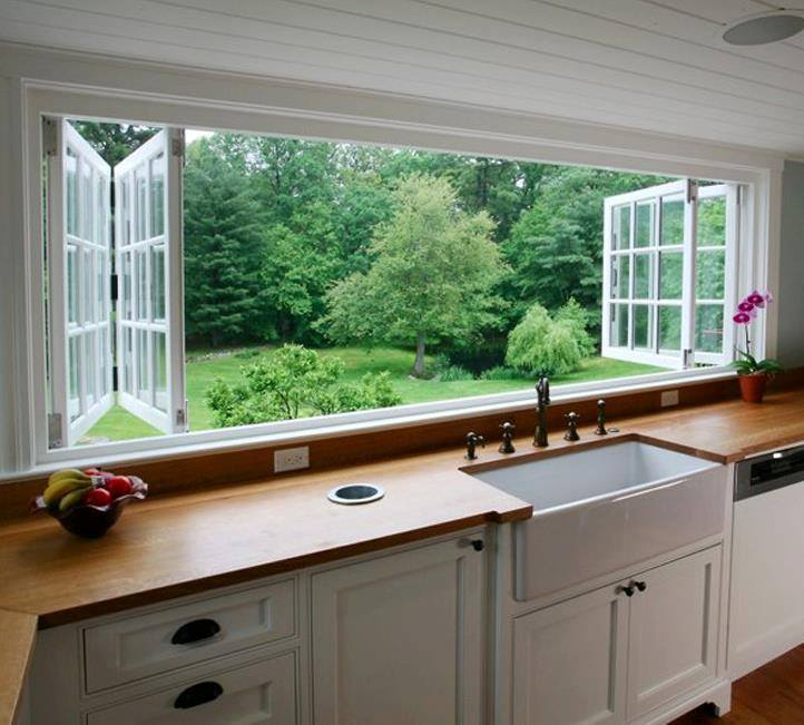 Sliding Bi fold Windows