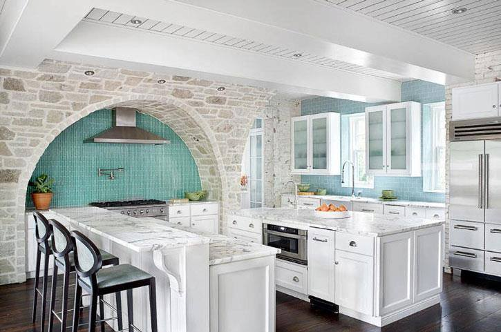 Kitchens with Island & islands for small kitchen, counter-tops decorating ideas, ideas for decorating a small kitchen, decorating an island in the kitchen, ideas for kitchen islands with seating, kitchen islands with butcher block top, design ideas for kitchen cabinets