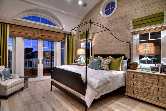 Master Bedroom setting with textured walls