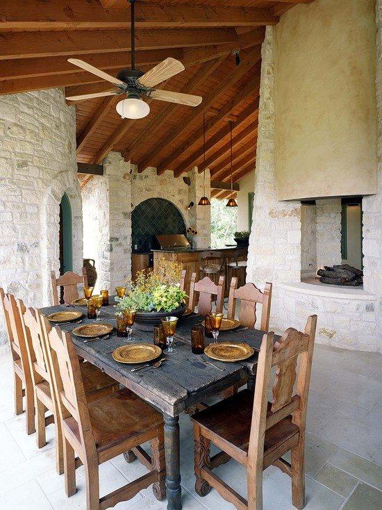 Mediterranean or Southwest patio