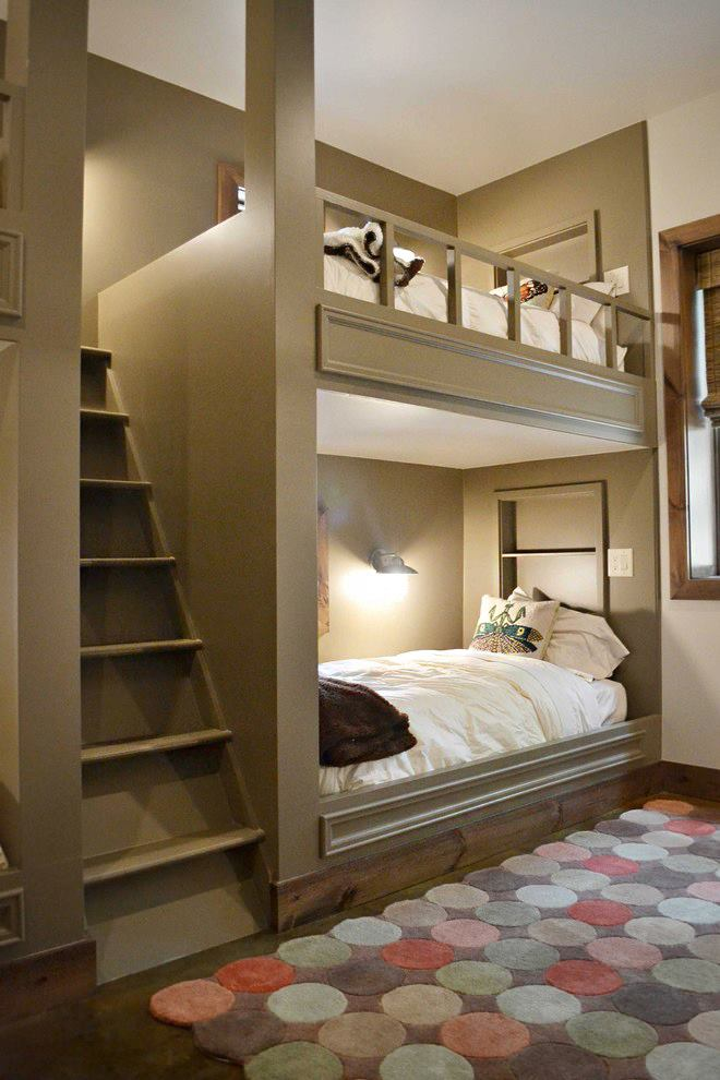 High End Built In Bunk Bed