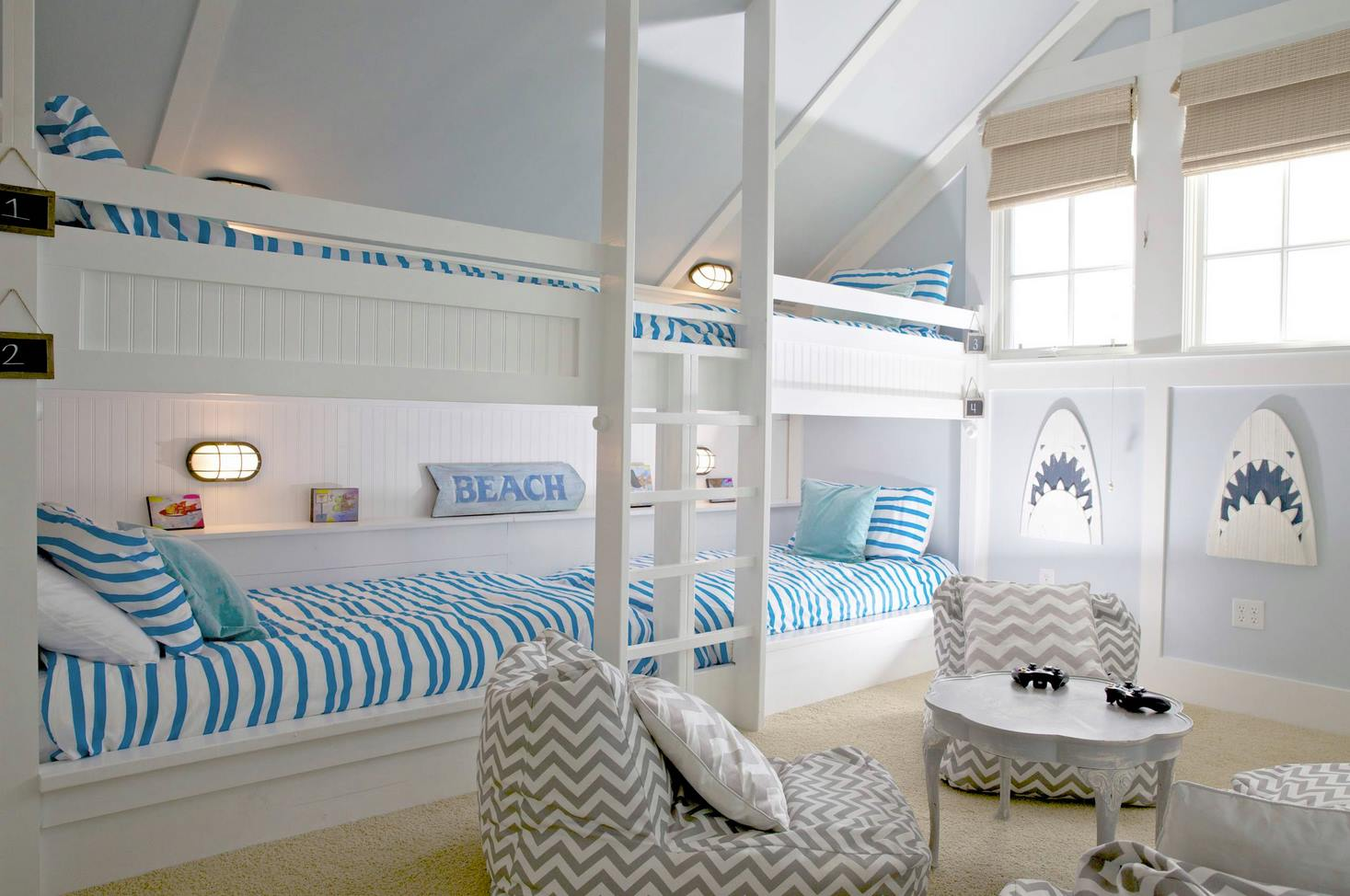 Beach – Shark Bedroom Theme Teen bedroom room ideas # 27